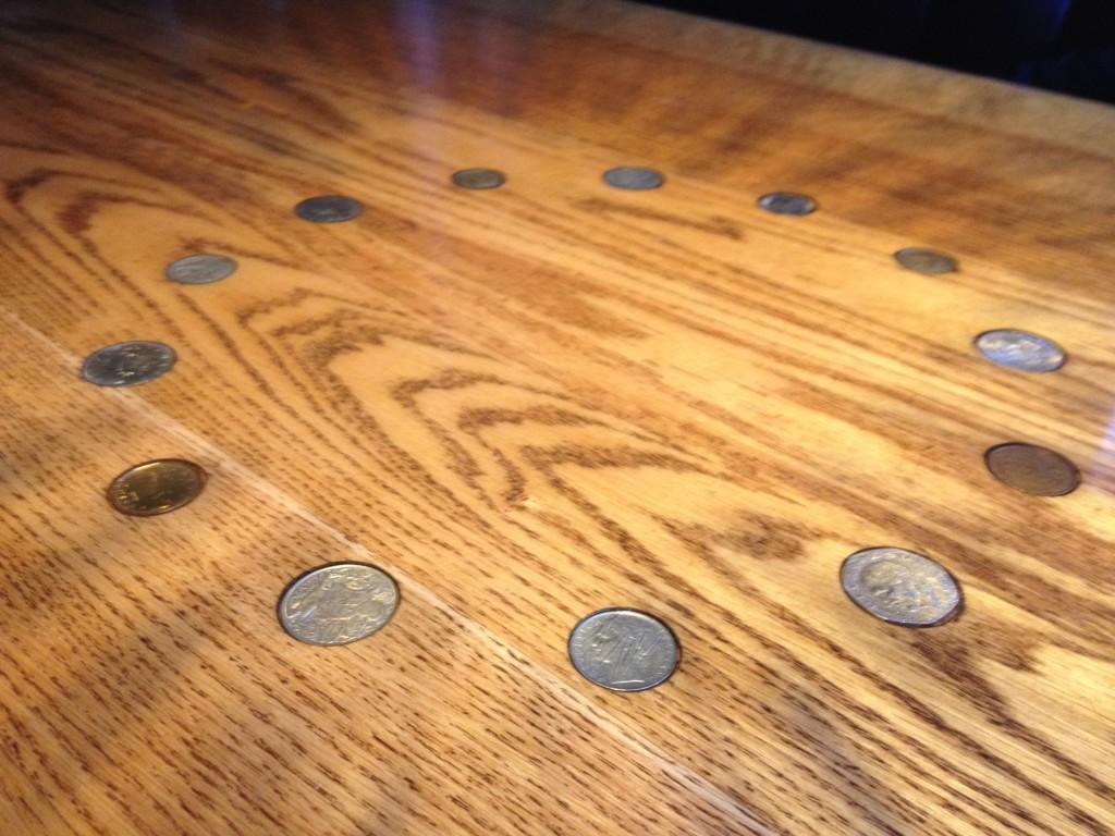 16 Coins